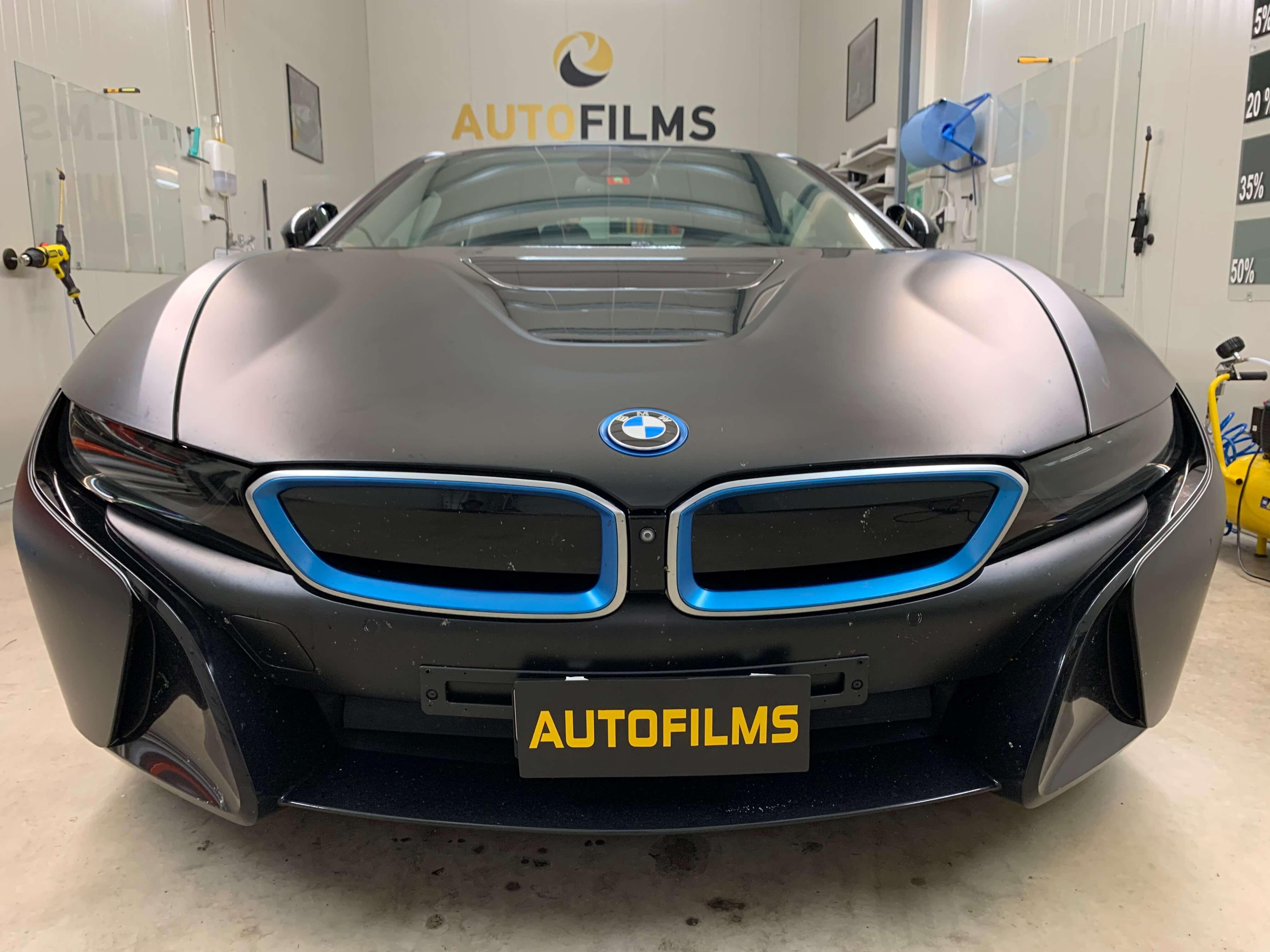 Autofilms bmwi8